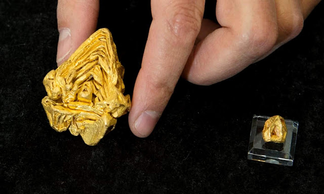 World's Largest Gold Crystal Found