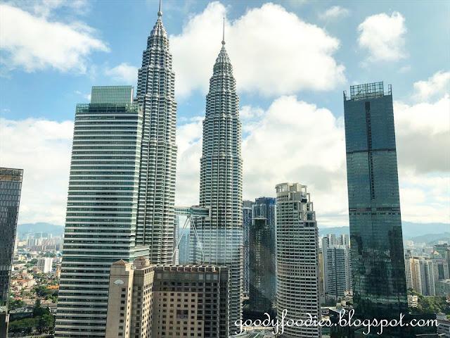 Grand Hyatt Kuala Lumpur view