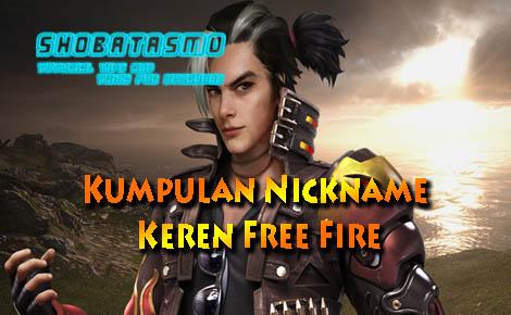 Kumpulan Nickname Keren Free Fire