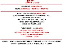 Karir Surabaya Terbaru di J&T Express Desember 2019