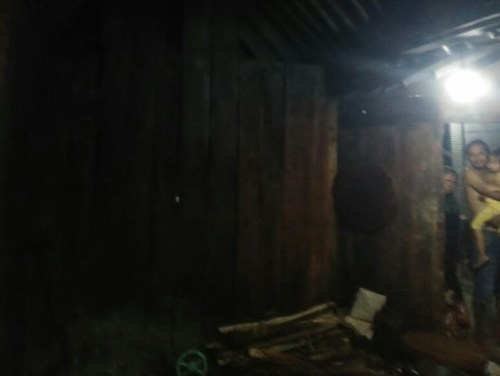Kobaran Api Melahap Bangunan Dapur Warga Banyurip Sambungmacan