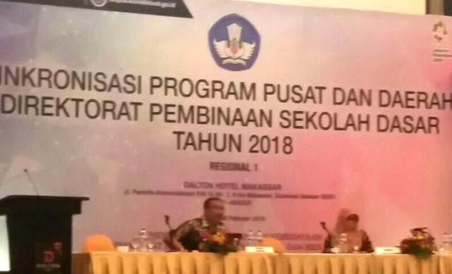 Update Program, Kadis Dikbud, Ikuti Rapat Sinkronisasi Pusat Dan Daerah