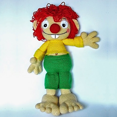 Patrón Pumuki a crochet