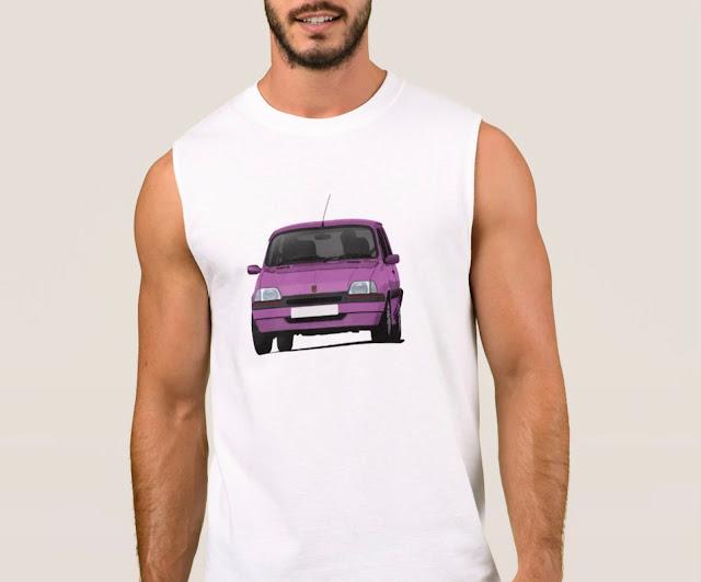 Rover Metro GTi T-shirt hot hatch