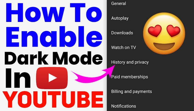 How To Enable Dark Mode In Youtube In Hindi | YouTube Tips And Tricks |