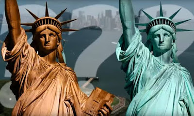 colour-of-the-statue-of-liberty-turns-to-green-fact