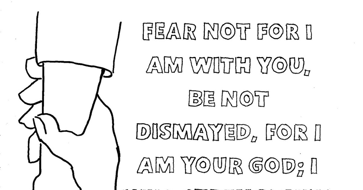 coloring pages for kids by mr adron printable bible verse coloring page isaiah 4110 - Isaiah Coloring Pages For Kids