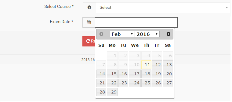 How to do start date selected in jquery datepicker using Ajax call