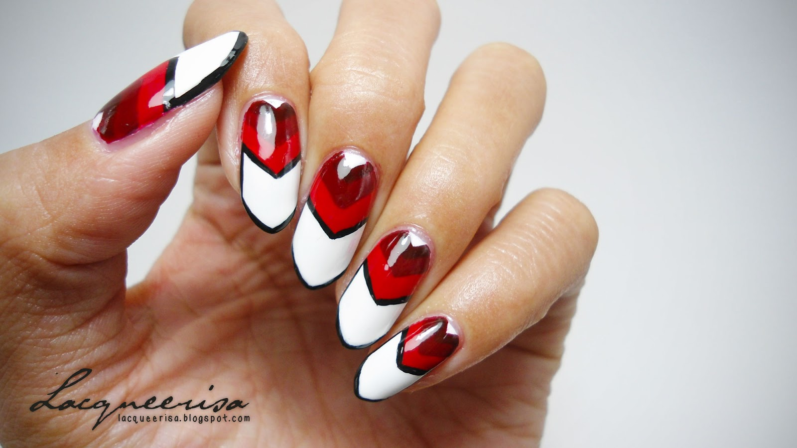 Germany Nails (1st Semi Final) lacqueerisa.blogspot.com
