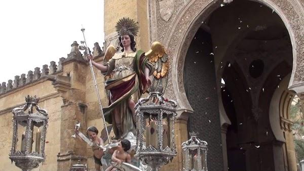 Horario e itinerario Salida Extraordinaria Virgen de los Dolores, Sagrado Corazón de Jesús y San Rafael en Córdoba hoy