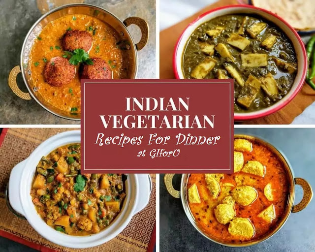 Indian-Vegetarian-Recipe-Light Dinner Recipes Vegetarian Indian-GIforU