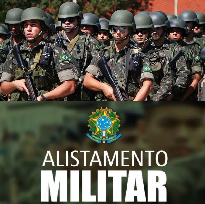 Encerra no final desse mês o prazo para o alistamento militar dos jovens que irão completar 18 anos.