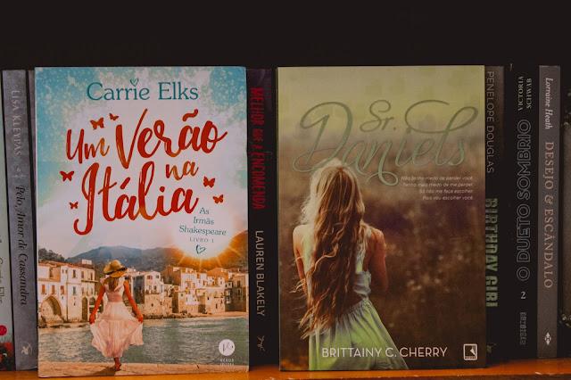 Os últimos livros recebidos/comprados
