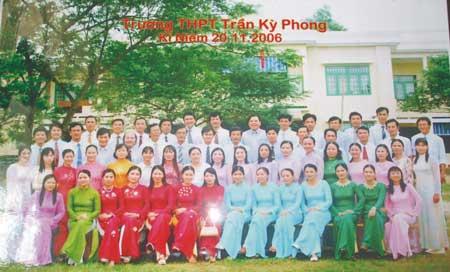 Trường THPT Trần Kỳ Phong Quảng Ngãi