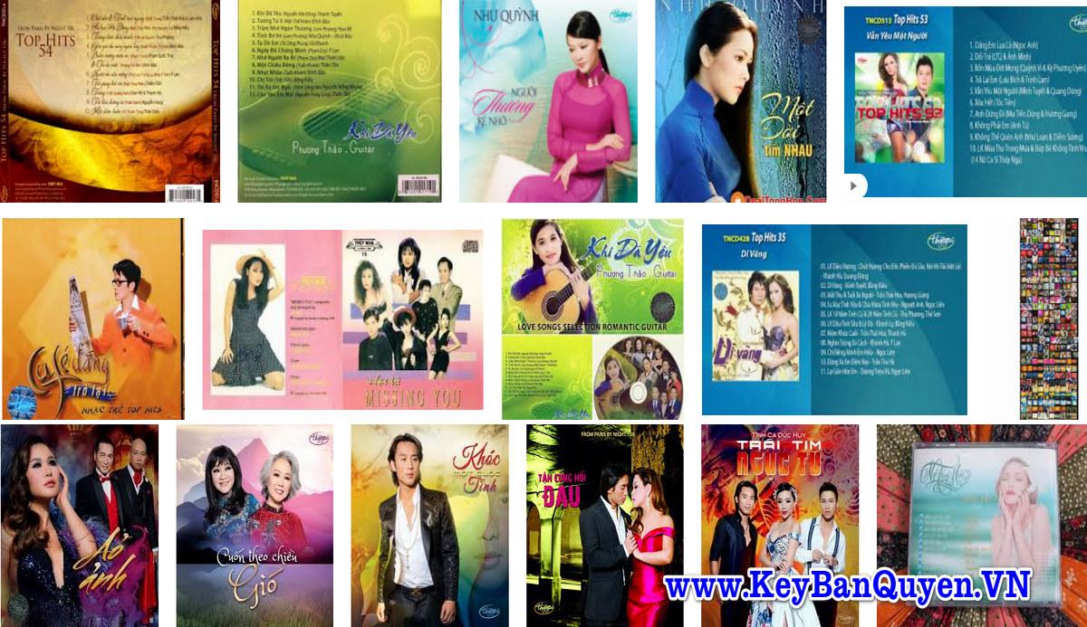Tổng hợp CD nhạc FLAC , WAV Trung Tâm Thúy Nga Hải Ngoại