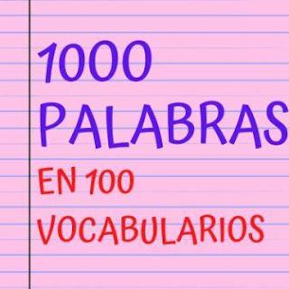 100 palabras en español