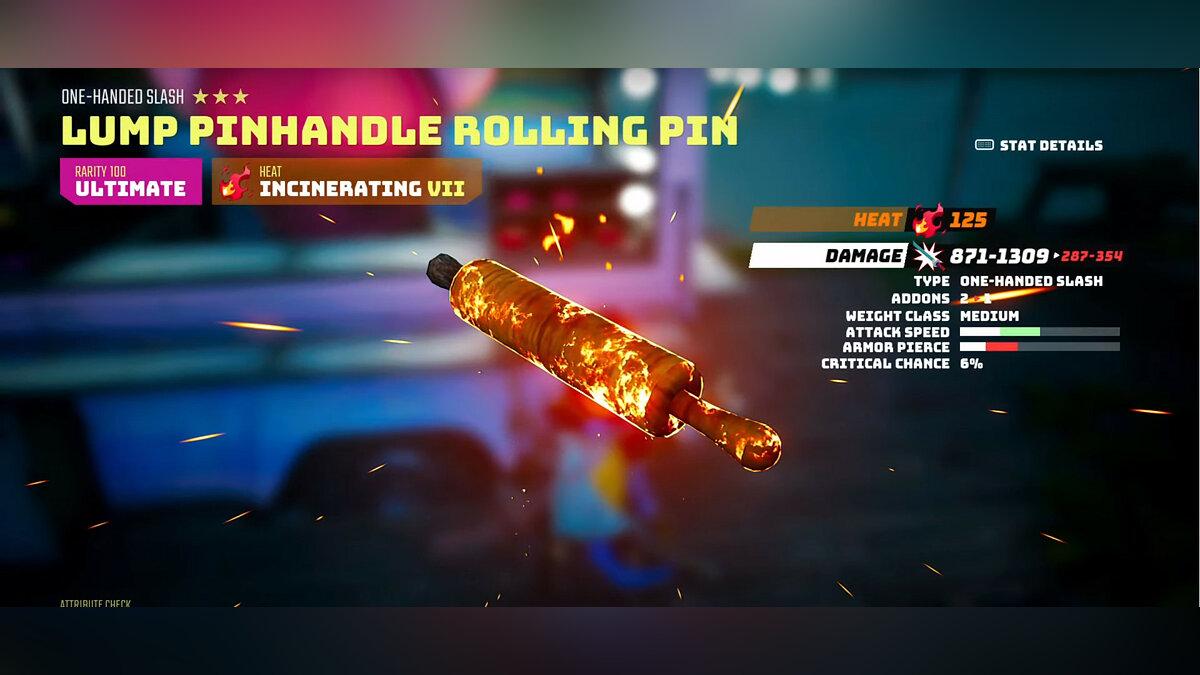 Lump Pinhandle Rolling Pin
