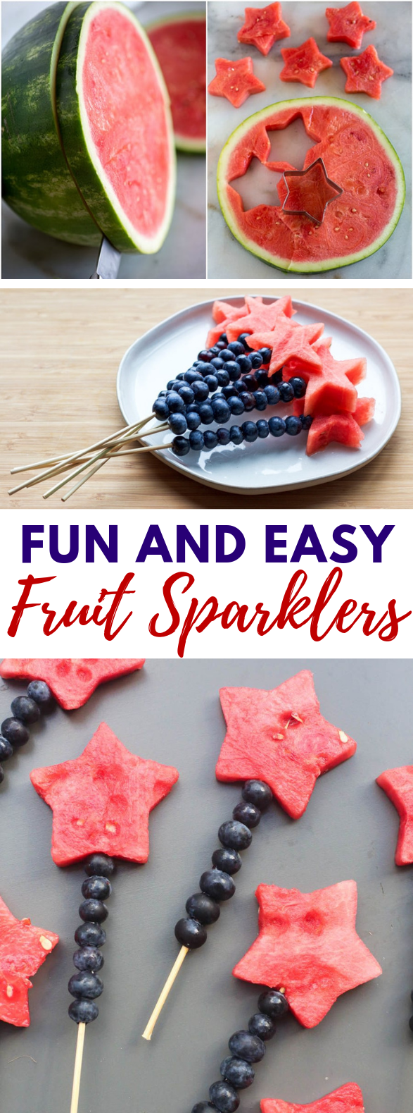 FRUIT SPARKLERS #holidayparty #summer