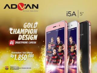 Advan i5A 4G LTE, Teknologi Canggih Tiada Tanding