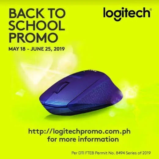 Logitech Gives Out Rewards with its Back-to-School Promo 2019