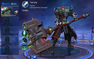 hero baru terizla, hero yang akan keluar server global ml setelah esmeralda