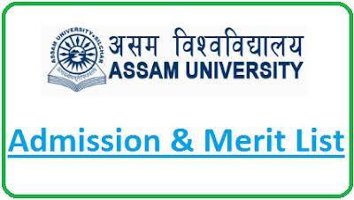 Assam University Admission 2021