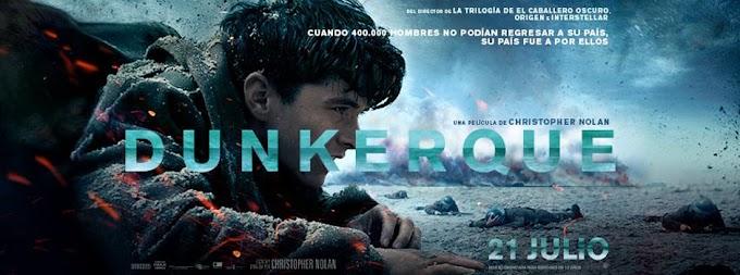 """Crítica de """"Dunkirk"""", Christopher Nolan y la guerra"""
