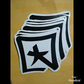 33Desain Stiker