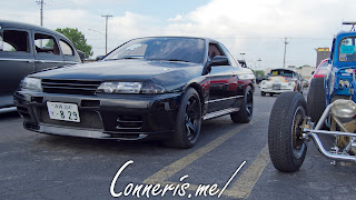 1991 Nissan Skyline GT-R R32 Front Angle
