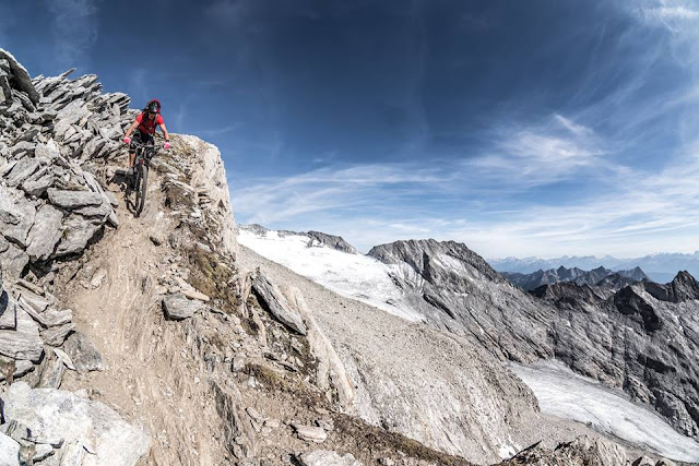Enduro Hochfeiler Zillertaler Alpen MTB