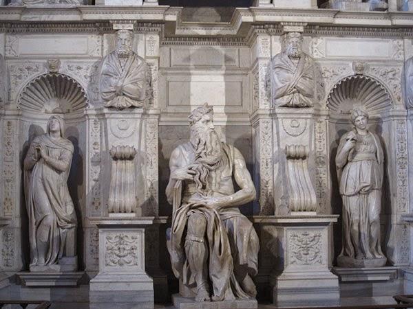 Moisés de Miguel Ángel, San Pietro in Vincoli