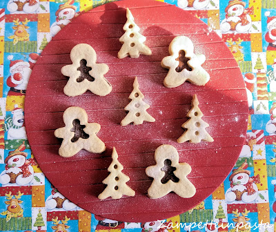 Biscotti ripieni natalizi - Biscotti semplici di Natale