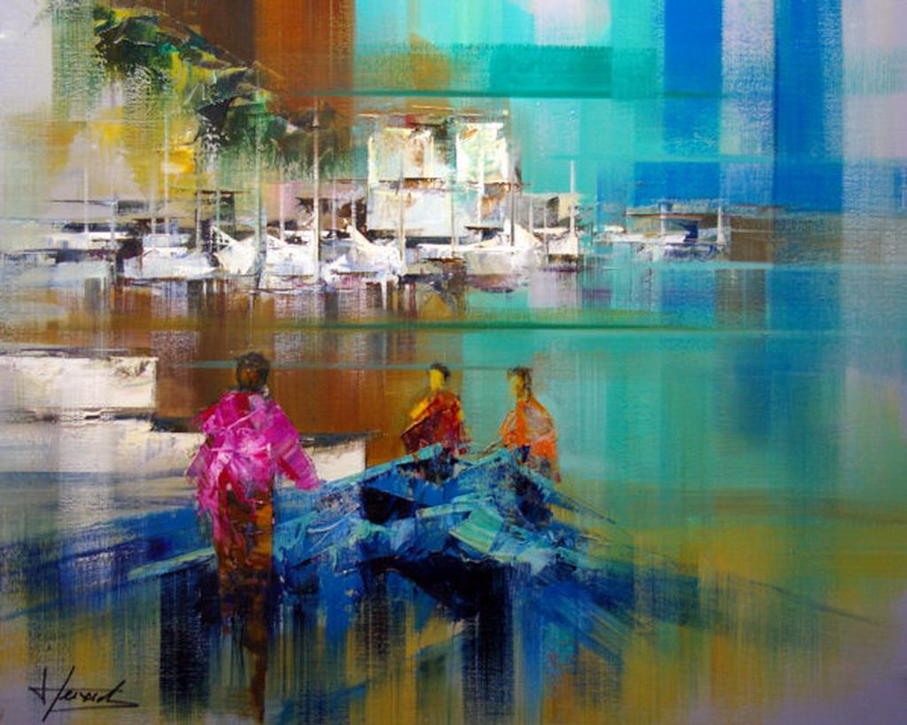 Cuadros modernos pinturas y dibujos la espatula en el for Imagenes de cuadros abstractos con relieve