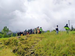 Kapospol Oksamol Dibunuh, Masyarakat Murka dan Siap Bertempur Melawan Lamek Taplo Pimpinan Teroris Ngalam Kupel