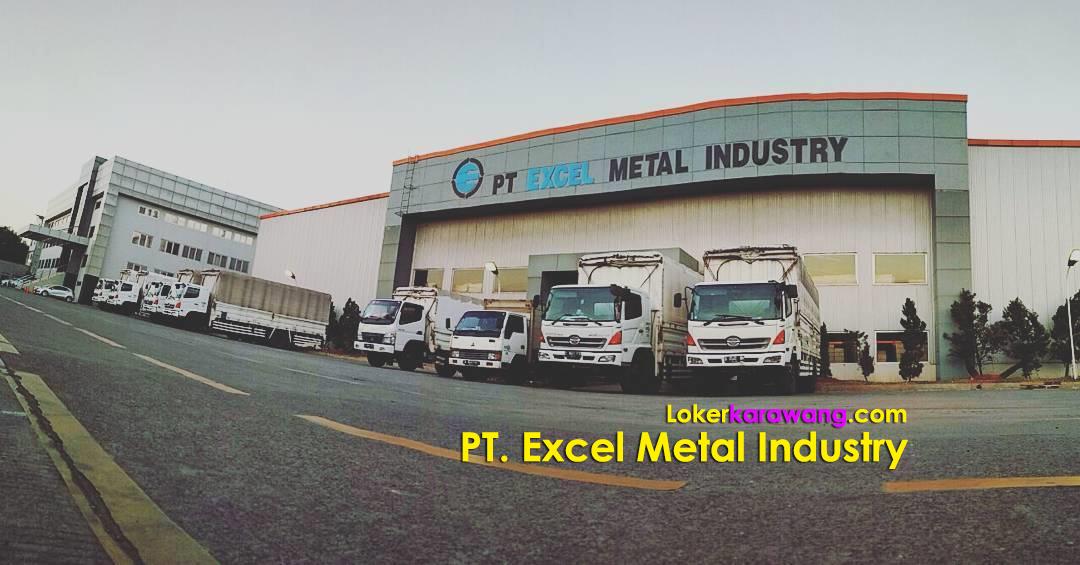 Lowongan Kerja PT. Excel Metal Industry Cikarang Bekasi
