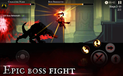 Mod Shadow of Death Apk Unlimited Money