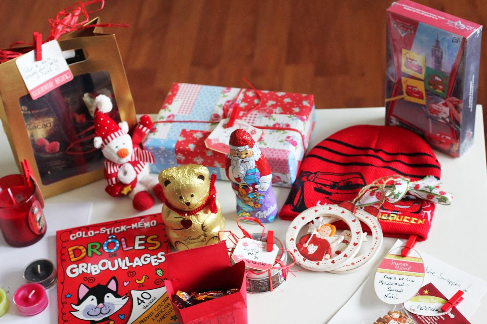 Favoris Oops & Cie: Swap de Noël, l'ouverture du colis AX37