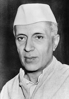 Pandit Jawaharlal Nehru - first prime minister of India 1947