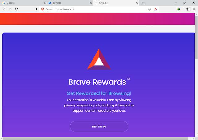 تحميل متصفح الأنترنت Brave Browser Brave-Browser+0.58.1