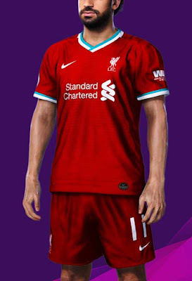 PES 2020 Liverpool Kit Update 20-21 For PES 2020 By BeDoo S.