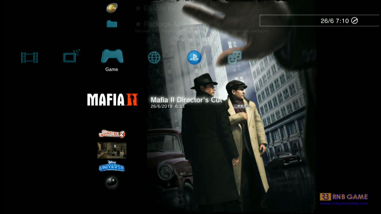 Download Game PS3 Mafia II Director's Cut (CFW2OFW)