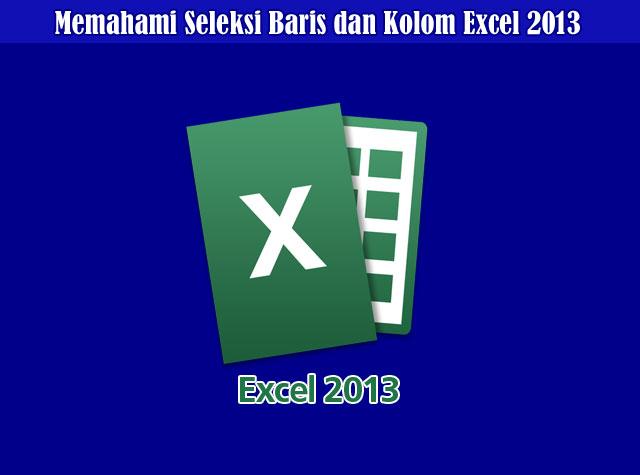 Pengertian Baris dan Kolom Serta Memahami Seleksi Baris dan Kolom Excel 2013