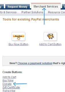 button for blogger blog