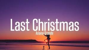 Ariana Grande - Last Christmas (Karaoke Version)