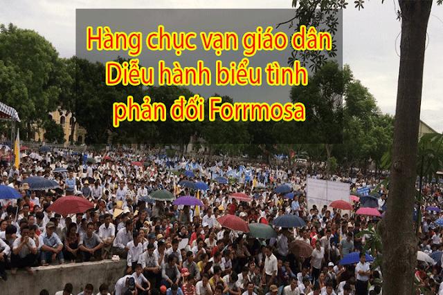 Image result for Giáo dân phản đối Formosa