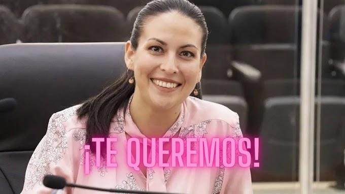 ¡MILENA será la candidata de MORENA a La Paz!