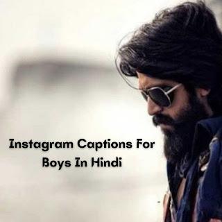 Instagram Attitude Captions For Boys