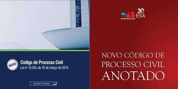 Novo CPC comentado para download em PDF