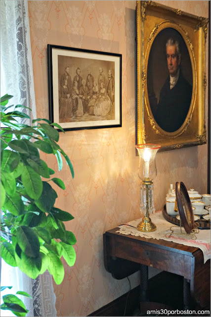 Fotos de Familia en la Casa Museo de Harriet Beecher Stowe en Hartford, Connecticut