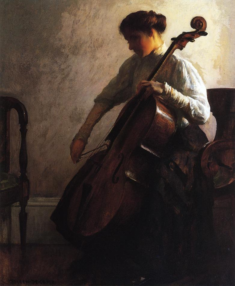 Joseph DeCamp, The Cellist (1908)